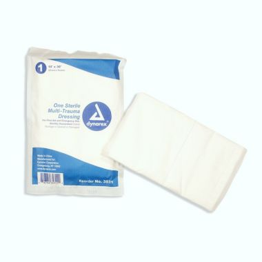 "Multi-Trauma Dressing Sterile 10"" x 30"""