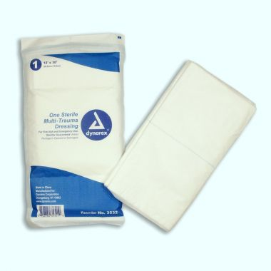 "Multi-Trauma Dressing Sterile 12"" x 30"""