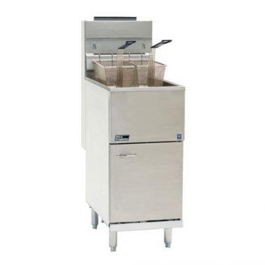 Pitco® 40+ Economy Fryer, S/S Tank, Propane - RFS390/40C+SLP