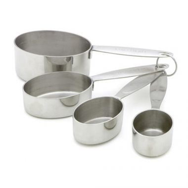 Cuisipro® Measuring Cup Set, Stainless Steel, 4pc - RFS016/747141