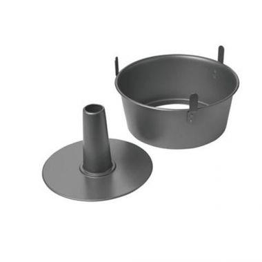Chicago Metallic® Non-Stick 2-Piece Angel Food Cake Pan W/ Feet- RFS2120/16184