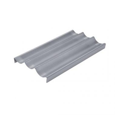 Chicago Metallic® Commercial ll Non-Stick Perforated Baguette Pan- RFS2120/59609
