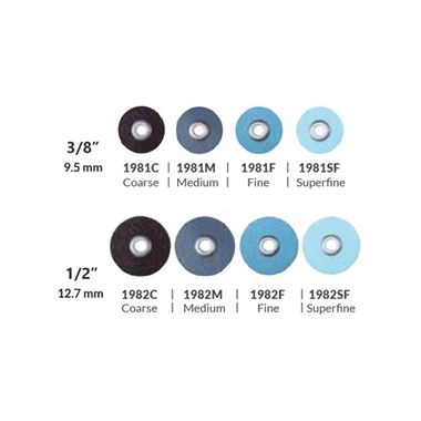 "3M ESPE Sof-Lex Contouring and Polishing Discs Refill 1982C 1/2"" Black Coarse 85/pkg"