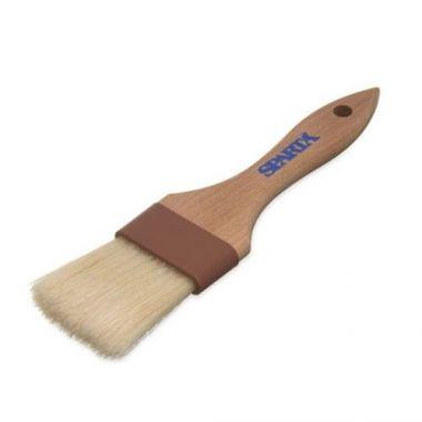 "Carlisle® Sparta® Chef Series""¢ Basting Wide Flat Brush w/Boar Bristles, Standard, 2"" (12/CS) - RFS376/40374 00"