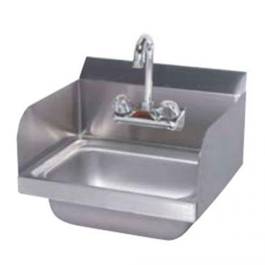 Tarrison® Hand Sink w/Faucet and Side Panels - RFS143/TA-HSF-14SP