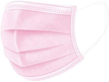 Pink Disposable 3-Ply Face Mask - Box of 50