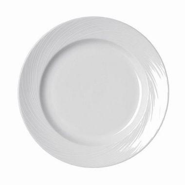 "Steelite® Spyro Plate, White, 10"" (2DZ) - RFS066/9032c978"