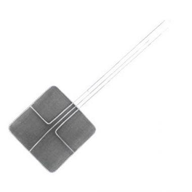 "Magnum® Nickel Plated Square Fine Mesh Skimmer, 6.75"" - RFS376/MAG3180"