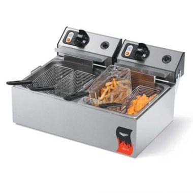 Vollrath® Twin Electric Fryer, 20lb - RFS1900/40707