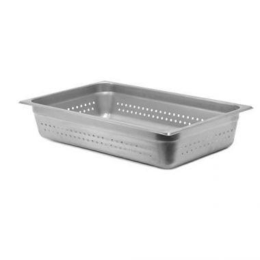 "SignatureWares""¢¢ Stainless Steel Steam Table Pan, Full Size, 4""  - RFS5000/STEAMPAN004P"