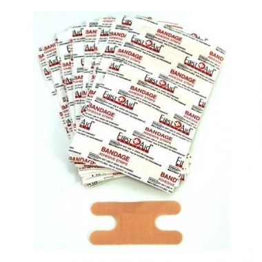 KNUCKLE LIGHT WEIGHT FABRIC ADHESIVE BANDAGES (100)