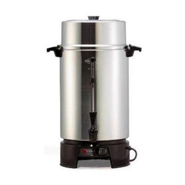 West Bend® Classic Aluminum Coffee Urn, 100 Cup - RFS100/FCMLA100