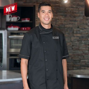 Premium Uniforms Bangkok Chef Coat,Button Closure