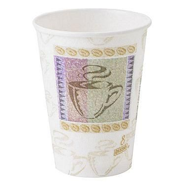 Dixie® PerfecTouch® Insulated Paper Hot Cup, 12 oz,1000/Case