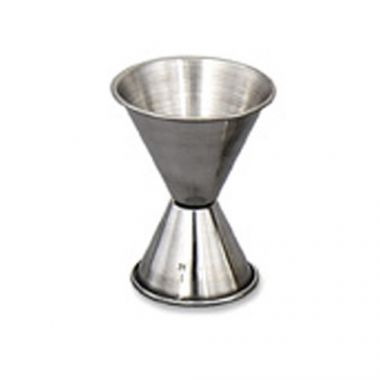 Browne® Stainless Steel Double Jigger, 1oz/2oz - RFS016/1293