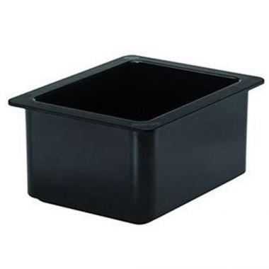 "Cambro® Coldfest Pan, Black, 1/2 Size 6"" Deep - RFS025/26cf110"