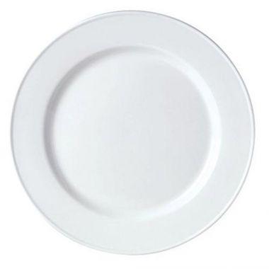 """Steelite® Simplicity Slimline Plate, White, 9"""" (2DZ) - RFS066/11010211"""