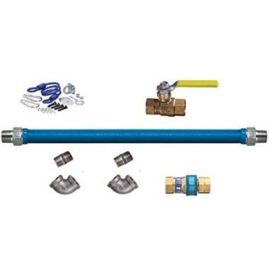 """Dormont® Deluxe Gas Hose Kit .5"""" x 48"""" - RFS074/1650kit48"""