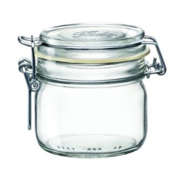 Bormioli Rocco® Glass Fido Jar w/Snap Lid, 7.75 oz - RFS066/4949Q458