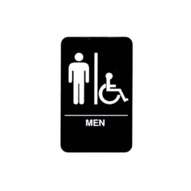 Vollrath® Braille Symbol Sign, Men - RFS1900/5631