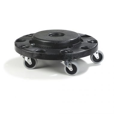 Carlisle® Bronco Standard Round Container Dolly, Black - RFS376/36911 03