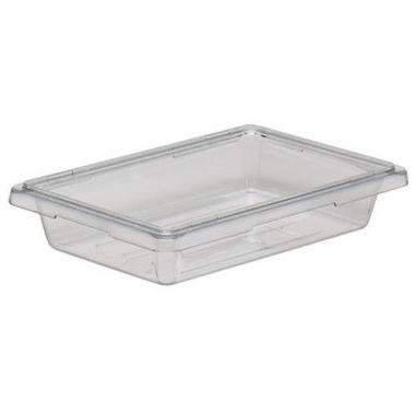 "Cambro® Camwear Food Box, Clear, 12"" x 18"" x 3"" - RFS025/12183cw135"