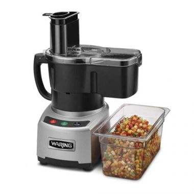 Waring Commercial® Combination Batch Bowl & Continuous Feed Food Processor, 4 Qt - RFS285/WFP16SCD