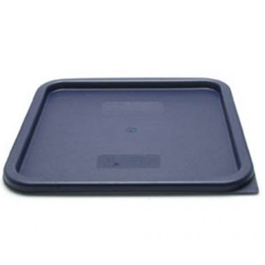 Cambro® Camwear CamSquares Lid, Blue, for 12 18 & 22 Qt - RFS025/SFC12453