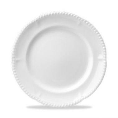 """Churchill® Buckingham Dinner Plate, White, 10"""" (2DZ) - RFS1063/WBP101"""