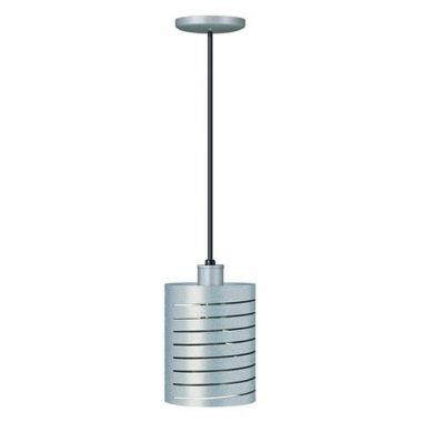 Hatco® Decorative Heat Lamp w/ Cylindrical Shade, Silver - RFS665/DL-1100