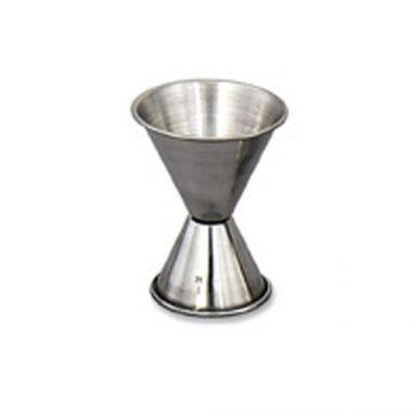 Browne® Stainless Steel Double Jigger, 0.5oz/1oz - RFS016/1290