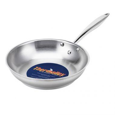 """Browne® Thermalloy®Stainless Steel Deluxe Fry Pan, 11"""" - RFS016/5724051, Free Shipping in Canada. Shop Linen Plus"""