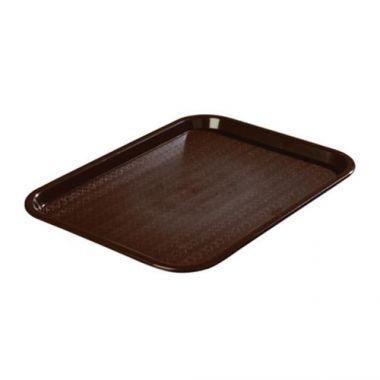 "Carlisle® Cafe Standard Tray, Chocolate, 14"" x 18"" - RFS376/CT1418 69"