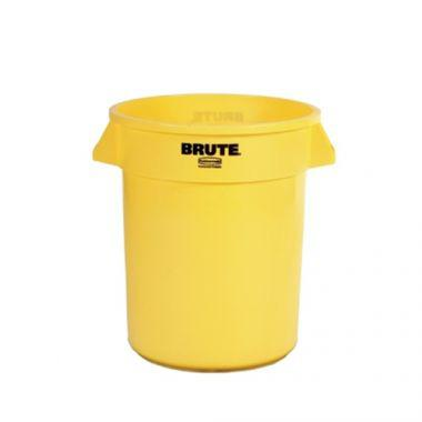 Rubbermaid® BRUTE Container 20 Gal, Yellow -RFS152/fg262000YEL