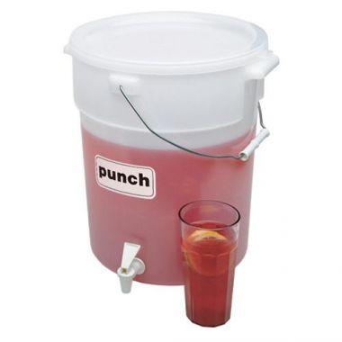Cambro® Beverage Dispenser, White, 6 Gal - RFS025/DSPR6148
