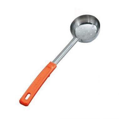Vollrath® Spoodle, Perforated, w/Grip 'N Serv Handle, Orange, 8 oz - RFS1900/62180