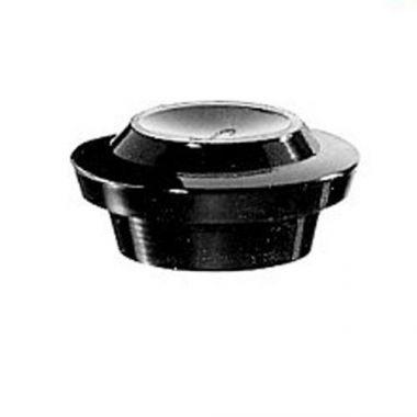"Libbey® Black Server Lid/Cover, 2.2"" - RFS149/96073"