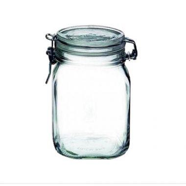 Bormioli Rocco® Glass Fido Jar w/Snap Lid, 37.75 oz - RFS066/4949Q455