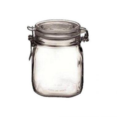 Bormioli Rocco® Glass Fido Jar w/Snap Lid, 29 oz - RFS066/4949Q456
