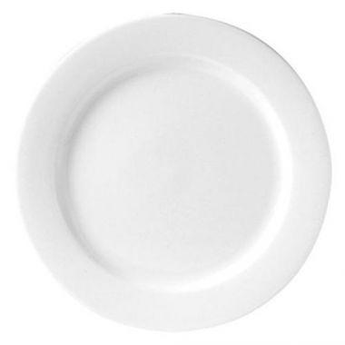 """Steelite® Monaco Flat Rim Plate, White, 8"""" (2DZ) - RFS066/9001C304"""