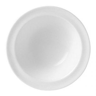 "Steelite® Monaco Rim Fruit Bowl, White, 6.5"" (3DZ) - RFS066/9001C330"