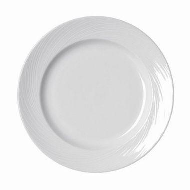 "Steelite® Spyro Plate, White, 6.5"" (3DZ) - RFS066/9032C984"