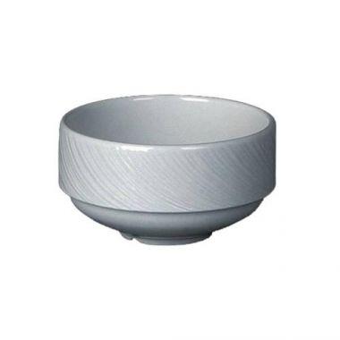 Steelite® Spyro Stacking Soup Cup, White, 10 oz (3DZ) - RFS066/9032C990