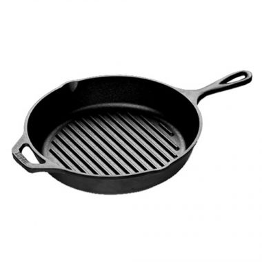 "Lodge® Grill Pan, 10.25"" - RFS644/L8GP3, Free Shipping in Canada. Shop Linen Plus"