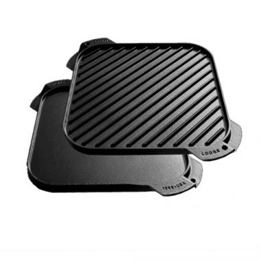 "Lodge® Single Burner Reversible Griddle, 10.5"" - RFS644/LSRG3, Free Shipping in Canada. Shop Linen Plus"