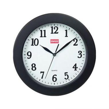 "Black Round Clock , 10"" - RFS913/687525"