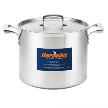 Browne® Thermalloy® Stainless Steel Stock Pot, 20 Qt - RFS016/5723920