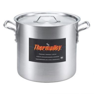 Browne® Thermalloy Heavy Weight Aluminum Stock Pot, 12 Qt - RFS016/5814112