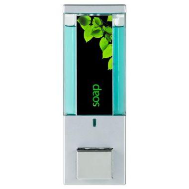 iQon One Chamber Dispenser Translucent Satin Silver