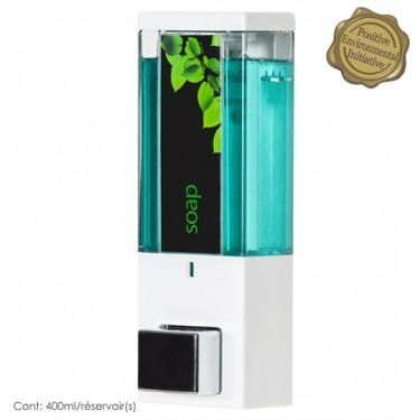 iQon One Chamber Dispenser Translucent White Color 2/Pack (DA-86154)